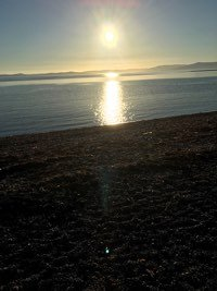 Largs, Sunset, Scotland