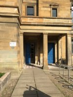 Entrance to use for the Glasgow Polytechnic Chess Club